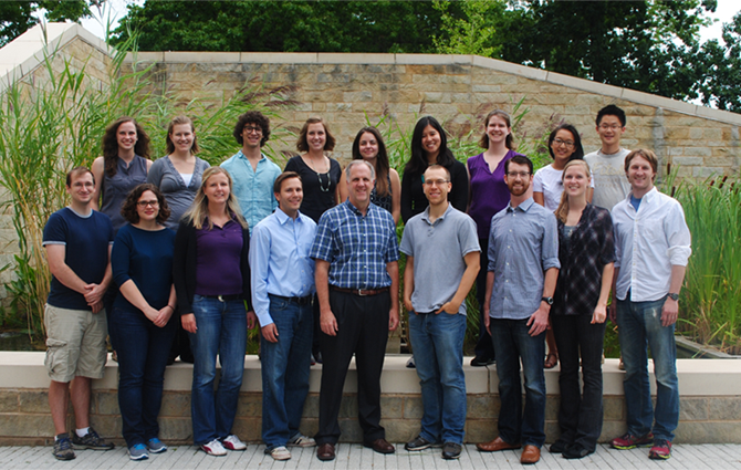 Strobel Lab Group Photo August 2013