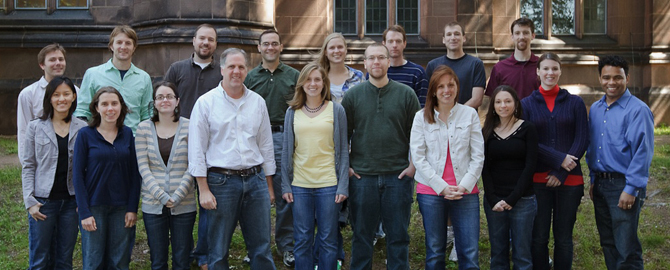 Strobel Lab Group Photo May 2010