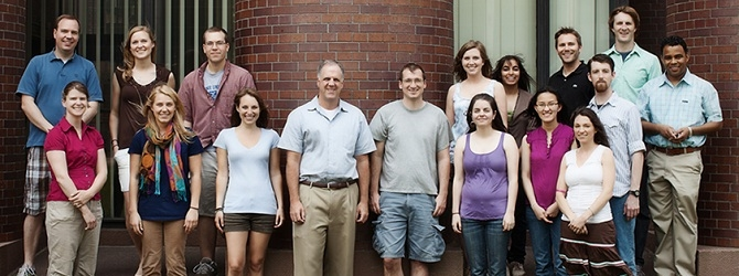 Strobel Lab Group Photo June 2011
