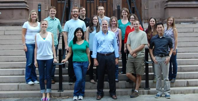 Strobel Lab Group Photo August 2014